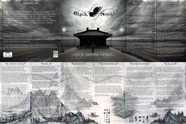 Black Novel - Progetto Grafico dell