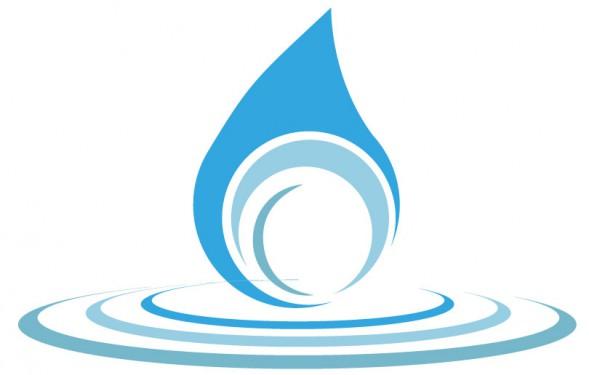 Pianeta Acqua - Studio del logo: goccia e cerchi