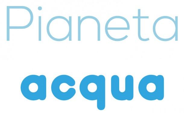 Pianeta Acqua - Studio del logo: il lettering