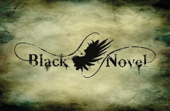 Balck Novel - Logo con sfondo