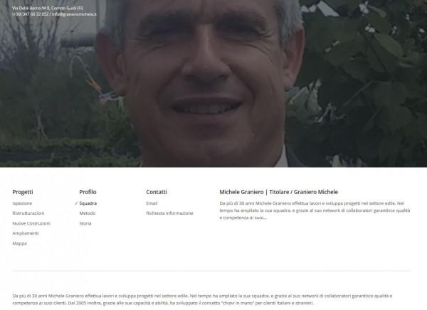 Michele Graniero - Comunicazione