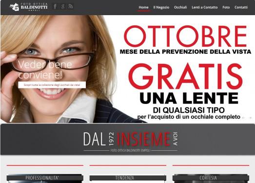 Foto Ottica Baldinotti - Homepage