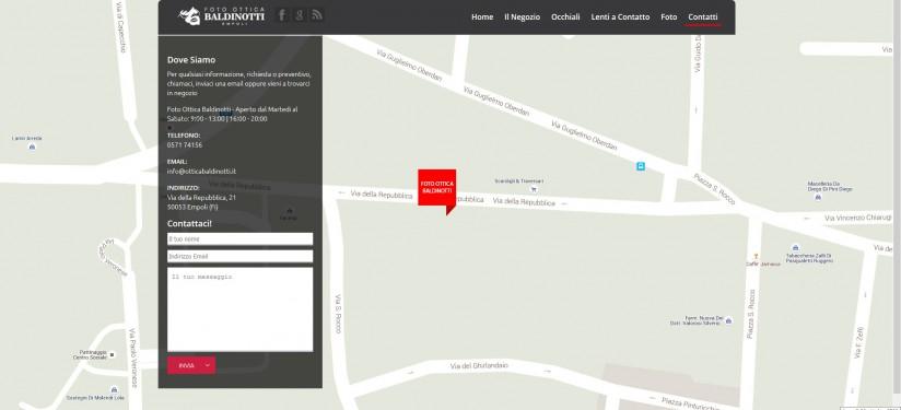 Foto Ottica Baldinotti - Pagina dei contatti e della mappa
