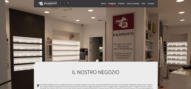 Foto Ottica Baldinotti - Pagina di presentazione del negozio