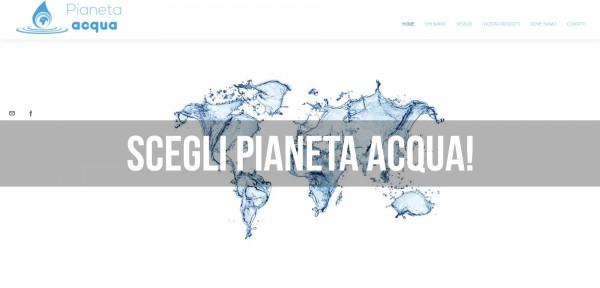 Pianeta Acqua SRLS - Sito Web