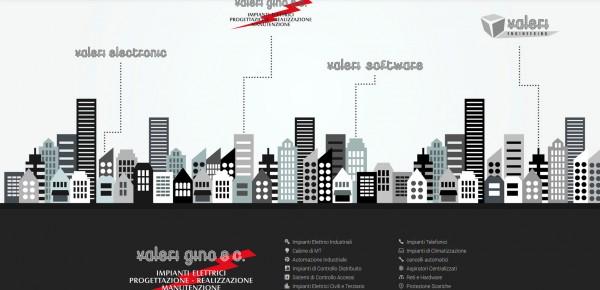 Valeri - Sito web