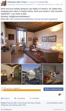 """Post Promosso Appartamento """"San Giovanni"""""""