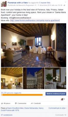 """Post Promosso Appartamento """"Santa Maria"""""""
