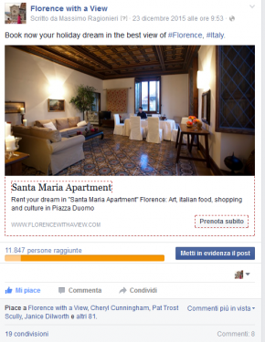 "Annuncio Appartamento ""Santa Maria"""
